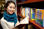 Bryant University senior Jane Li is seen in the Amica Center Monday, Dec. 19, 2011