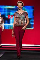 S&Atilde;O PAULO-SP-03.03.2015 - INVERNO 2015/MEGA FASHION WEEK - Grife By Su/<br /> O Shopping Mega Polo Moda inicia a 18&deg; edi&ccedil;&atilde;o do Mega Fashion Week, (02,03 e 04 de Mar&ccedil;o) com as principais tend&ecirc;ncias do outono/inverno 2015.Com 1400 looks das 300 marcas presentes no shopping de atacado.Br&aacute;z-Regi&atilde;o central da cidade de S&atilde;o Paulo na manh&atilde; dessa segunda-feira,02.(Foto:Kevin David/Brazil Photo Press)