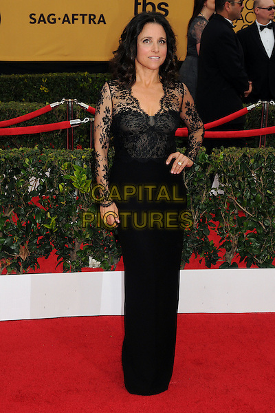 25 January 2015 - Los Angeles, California - Julia Louis-Dreyfus. 21st Annual Screen Actors Guild Awards - Arrivals held at The Shrine Auditorium. <br /> CAP/ADM/BP<br /> &copy;BP/ADM/Capital Pictures