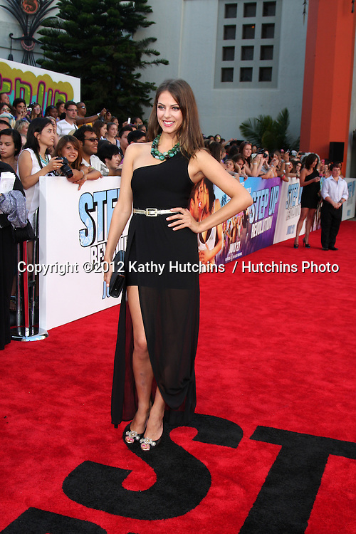 """LOS ANGELES - JUL 17:  Julia Voth arrives at the """"Step Up Revolution"""" Premiere at Graumans Chinese Theater on July 17, 2012 in Los Angeles, CA"""