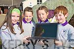 Launching www.gaelscoilfaithleann.com, the new website for Gaelscoil Faithleann, Cill Airne on Wednesday were Leanne Ni Cheilleachair, Jason O? Ceilleachair, Elizabeth N i? Dhuibhir and Joe O? Rodain.