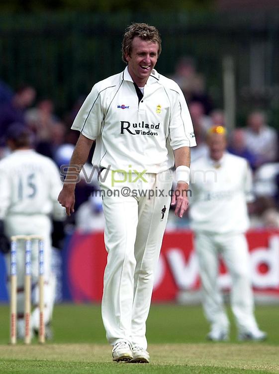 Pix: Matthew Lewis/SWpix.com. Cricket. Cheltenham & Gloucester Trophy. Quarter Final. Derbyshire v Surrey. 11/06/03...COPYRIGHT PICTURE>>SIMON WILKINSON>>01943 436649>>..Derbyshire's Dominic Cork.