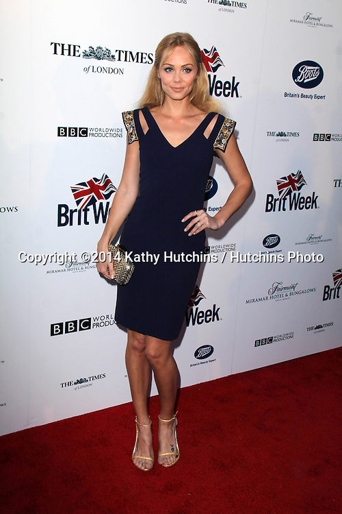 BODHILOS ANGELES - APR 22:  Laura Vandervoort at the 8th Annual BritWeek Launch Party at The British Residence on April 22, 2014 in Los Angeles, CA
