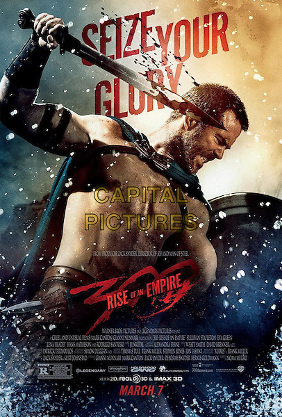POSTER ART<br /> in 300: Rise of an Empire (2014) <br /> *Filmstill - Editorial Use Only*<br /> CAP/FB<br /> Image supplied by Capital Pictures