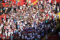 RECIFE, PE, 29.03.2015 - COPA DO NORDESTE 2015 - SPORT X FORTALEZA, Torcidas fazem a festa antes da partida Sport x Fortaleza válida pela Copa do Nordeste 2015, no Estádio da Ilha do Retiro. (Foto: Williams Aguiar / Brazil Photo Press)