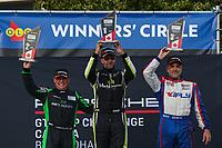 Race 1, Platinum Masters Podium, #88 Mark Motors Racing, Porsche 991 / 2019, GT3CP: Marco Cirone (M), #84 Mark Motors Racing, Porsche 991 / 2018, GT3CP: Perry Bortolotti (M), #99 Kelly-Moss/AM Motorsports, Porsche 991 / 2019, GT3CP: Alan Metni (M)