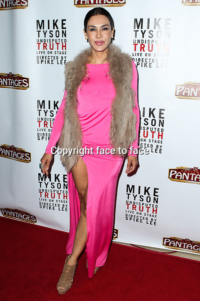 "Carla Ortiz attending the ""Mike Tyson: Undisputed Truth"" Los Angeles Opening Night held at The Pantages Theatre on March 8, 2013 in Hollywood, California. ..Credit: MediaPunch/face to face..- Germany, Austria, Switzerland, Eastern Europe, Australia, UK, USA, Taiwan, Singapore, China, Malaysia and Thailand rights only -"