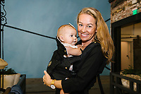 Lizbeth Lehan and child attend Buru Brunch West on September 12, 2017 (Photo by Jason Sean Weiss / Guest of a Guest)
