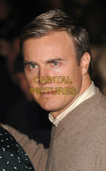 GARY BARLOW  of TAKE THAT .Attending The Daily Mirror's Pride Of Britain Awards,.London Television Studios, London, England,.November 7th 2006..portrait headshot.Ref: BEL.www.capitalpictures.com.sales@capitalpictures.com.©Tom Belcher/Capital Pictures.