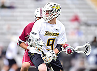 Towson, MD - May 6, 2017: Towson Tigers Jon Mazza (9) in action during CAA Championship game between Towson and UMASS at Minnegan Field at Johnny Unitas Stadium  in Towson, MD. (Photo by Phillip Peters/Media Images International)