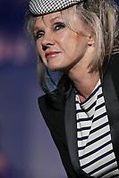 "Diane Dufresne performs at the ""Paris-Quebec"" show of the 44th Festival d'ete de Quebec on the Plains of Abraham in Quebec city Thursday July 7, 2011."