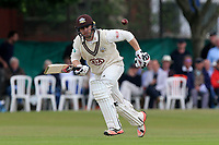 Mark Stoneman in batting action for Surrey during Surrey CCC vs Essex CCC, Specsavers County Championship Division 1 Cricket at Guildford CC, The Sports Ground on 9th June 2017
