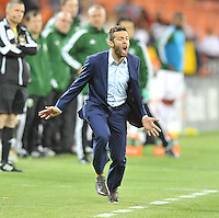 D.C. United Head Coach Ben Olsen.  The Portland Timbers defeated D.C. United 2-0, at RFK Stadium, Saturday May 25 , 2013.