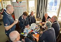 March 15, 2015, Netherlands, Rotterdam, TC Victoria, NOJK, Umpires<br /> Photo: Tennisimages/Henk Koster