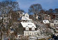 Deutschland, Hamburg, Blankenese im Winter