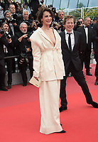 Jeanne Balibar &amp; Mathieu Amalric at the premiere for &quot;Loveless&quot; at the 70th Festival de Cannes, Cannes, France. 18 May  2017<br /> Picture: Paul Smith/Featureflash/SilverHub 0208 004 5359 sales@silverhubmedia.com
