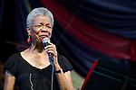 Germaine Bazzle performs during the New Orleans Jazz & Heritage Festival in New Orleans, LA.