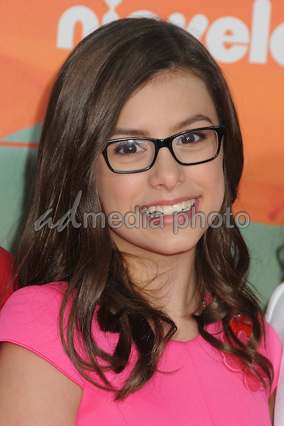 12 March 2016 - Inglewood, California - Madisyn Shipman. 2016 Nickelodeon Kids' Choice Awards held at The Forum. Photo Credit: Byron Purvis/AdMedia
