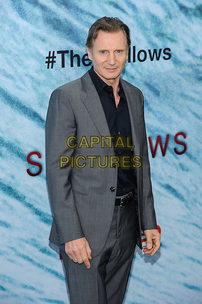 21 June 2016 - New York, New York - Liam Neeson.  &quot;The Shallows&quot; New York Premiere. <br /> CAP/ADM/MSA<br /> &copy;MSA/ADM/Capital Pictures