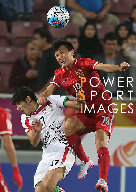 IR Iran vs China PR during the AAFC U23 Championship 2016 Group A match on January 18, 2016 at the Abdullah Bin Khalifa Stadium in Doha, Qatar. Photo by Karim Jaafar / Lagardère Sports