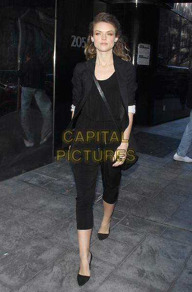 NEW YORK, NY - NOVEMBER 23: Erin Richards seen in New York City on November 23, 2015. <br /> CAP/MPI/RW<br /> &copy;RW/MPI/Capital Pictures