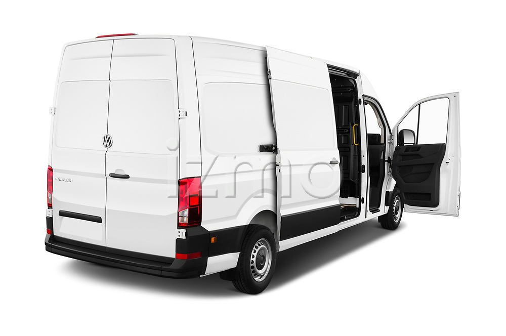 Car images close up view of a 2019 Volkswagen Crafter Base 4 Door Cargo Van doors