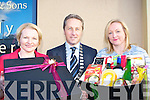 Margaret Hickey, Donnacha Galvin and Margaret Hickey launching the Bluebell Hampers new christmas collection in Killarney on Tuesday   Copyright Kerry's Eye 2008