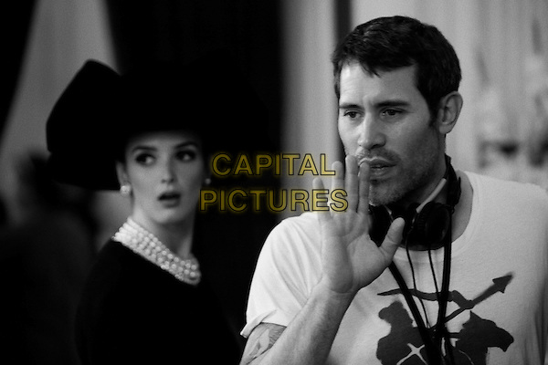 Jalil Lespert (Director)<br /> on the set of Yves Saint Laurent (2014) <br /> *Filmstill - Editorial Use Only*<br /> CAP/NFS<br /> Image supplied by Capital Pictures