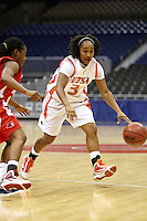 SAN ANTONIO , TX - DECEMBER 7, 2009: The University of Houston  Cougars vs. The University of Texas At San Antonio Roadrunners Women's Basketball at the Alamodome. (Photo by Jeff Huehn)