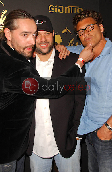 Laurent Planeix with Dave Rodriguez and Steven Bauer<br />