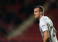 Steven Taylor of Peterborough United  during the Sky Bet League 1 match between Charlton Athletic and Peterborough at The Valley, London, England on 28 November 2017. Photo by Vince  Mignott / PRiME Media Images.