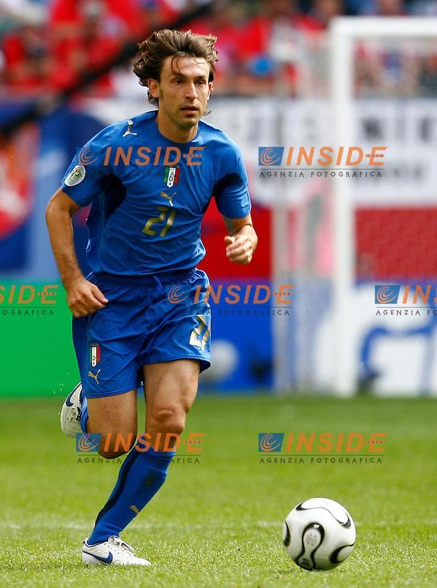 HAmburg 22/6/2006 World Cup 2006.Repubblica Ceca Italia 0-2 0-2.Photo Andrea Staccioli Insidefoto.Andrea Pirlo Italy