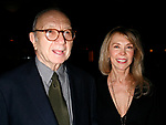 Neil Simon & Elaine Joyce attending  the Opening Night after party<br />