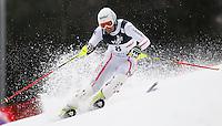 ZAGREB, CROACIA, 06 JANEIRO 2013 - COPA DO MUNDO DE ESQUI ALPINO - O competidor Manfred Pranger da Austria durante a competicao de Slalom Gigante para homens durante a Copa do Mundo de Esqui Alpino em Zagreb na Croacia, neste domingo, 06/01/2013. (FOTO: PIXATHLON / BRAZIL PHOTO PRESS).