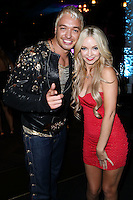 HOLLYWOOD, LOS ANGELES, CA, USA - AUGUST 12: KUBA Ka and Mindy Robinson arrive at the Los Angeles Premiere Of Screen Media Films' 'Live Nude Girls' held at Avalon on August 12, 2014 in Hollywood, Los Angeles, California, United States. (Photo by Xavier Collin/Celebrity Monitor)