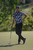 Danny Willett (ENG) waits to putt on 6 during round 2 of the Arnold Palmer Invitational at Bay Hill Golf Club, Bay Hill, Florida. 3/8/2019.<br />