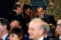 Silvio Berlusconi<br /> Rome December 19th 2018. Quirinale. Traditional exchange of Christmas wishes between the President of the Republic and the institutions.<br /> Foto Samantha Zucchi Insidefoto