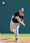 12 March 2011: New York Yankees' pitcher Adam Warren on the mound during a Spring Training game against the Washington Nationals at Space Coast Stadium in Viera, Florida. The Nationals edged out the Yankees 6-5 in Grapefruit League action. Mandatory Credit: Ed Wolfstein Photo