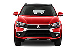 Car photography straight front view of a 2017 Mitsubishi ASX Instyle 5 Door SUV Front View