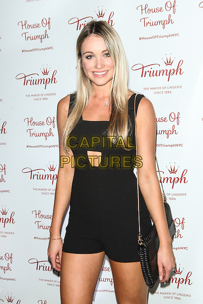 NEW YORK, NY -  AUGUST 28: Katrina Bowden attends Triumph Lingerie's Magic Wire Launch Event at The Old Bowery Station on August 28, 2014 in New York City.  <br /> CAP/MPI/COR99<br /> &copy;COR99/MPI/Capital Pictures