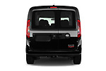 Straight rear view of a 2018 Ram Promaster City SLT Wagon 5 Door Mini Van stock images