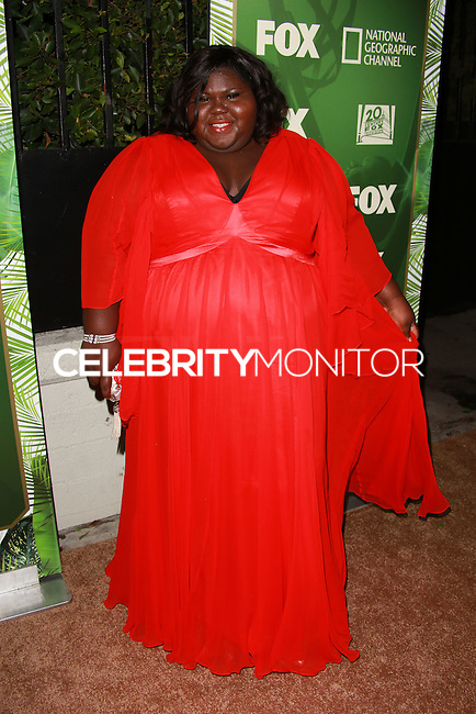 LOS ANGELES, CA, USA - AUGUST 25: Gabourey Sidibe at the FOX, 20th Century FOX Television, FX Networks And National Geographic Channel's 2014 Emmy Award Nominee Celebration held at Vibiana on August 25, 2014 in Los Angeles, California, United States. (Photo by David Acosta/Celebrity Monitor)