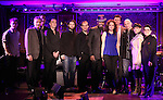 Terese Genecco, Lance Roberts, Melissa Errico, Brent Barrett, Michael Cerveris, Kimberly Kaye & Musicians promoting their upcoming performances at 54 Below on 10/24/2012 in New York City.