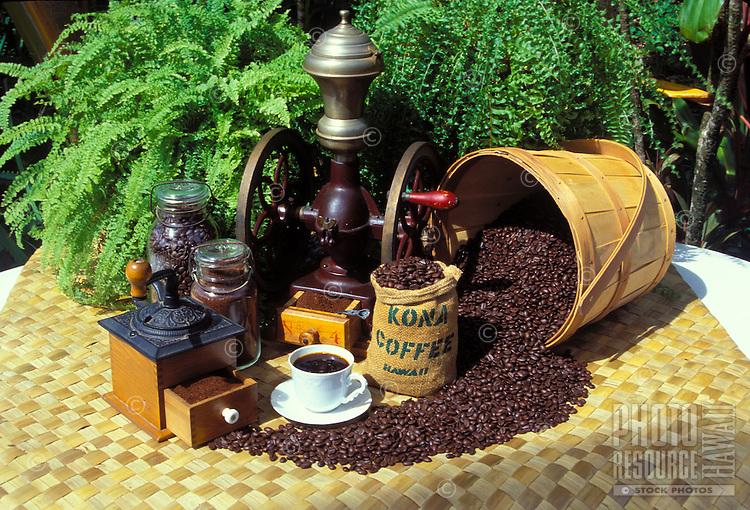 Kona coffee from the Big Island of Hawaii: a delicious island export