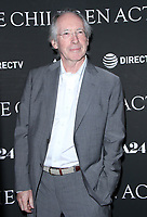 NEW YORK, NY - SEPTEMBER 11:  Ian McEwan  at the Premiere of The Children Act   at the Walter Reade Theater in New York City on September 11, 2018. <br /> CAP/MPI/RW<br /> &copy;RW/MPI/Capital Pictures