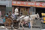 Tonga  in the Paharganj district of New Delhi, India.