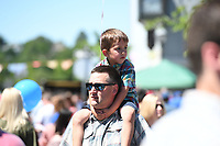 NWA Democrat-Gazette/J.T. WAMPLER Sunday May 21, 2017 at the Seventh annual Block Street Block Party held all along Block Ave. from the square to Dickson St. Thousands of people attended with around 150 vendors, 90 bands, several beer gardens and more.