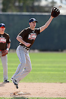 January 17, 2010:  Robert Gullion (Highlands Ranch, CO) of the Baseball Factory Mountain Team during the 2010 Under Armour Pre-Season All-America Tournament at Kino Sports Complex in Tucson, AZ.  Photo By Mike Janes/Four Seam Images