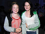 Kelly Finglas and Gemma Butler pictured at the Tullyallen white collar boxing. Photo: Colin Bell/pressphotos.ie