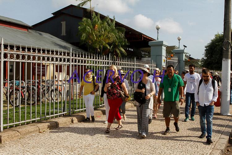 2017.11.10 - PA - Belém - Brasil: Encontro das Cidades Criativas de Gastronomia - Chefs convidados visitam o complexo do Ver-O-Peso.<br /> <br /> 2017.11.10 - PA - Belém - Brazil: UNESCO Creative Cities of Gastronomy Meeting - Invited chefs visit the Ver-O-Peso complex.